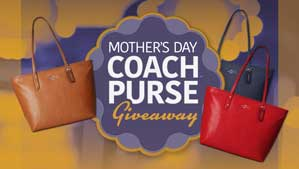 Mother's Day Coach Purse Giveaway