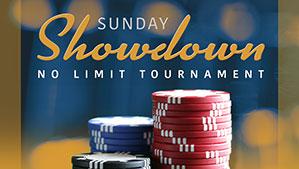 Sunday Showdown No Limit Poker Tournament